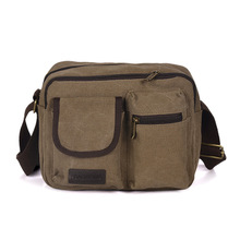 Contracted and fashionable canvas bag new winter sport one shoulder bag male male outdoor leisure travel men BaoChao cross section