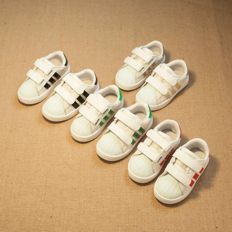 Корейская версия 15 сезонов весна летних детей обувь классические кроссовки ретро shell-toe обувь для мальчиков Повседневная обувь