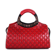 Beautiful Dragon original female header layer of leather 2015 new extravagant vintage leather satchel ethnic beauties