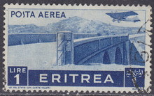 0035 eritrea colony airmail stamps in 1936 the old one