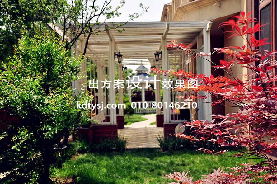 Real case of private courtyard design and construction in Beijing