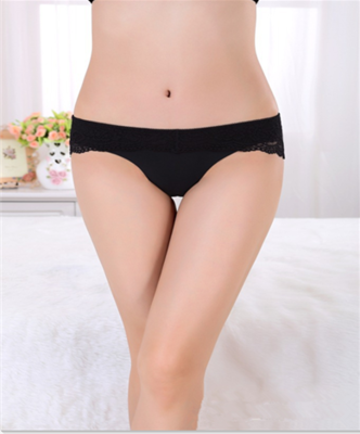 9483d5563f5 lingerie Non-trace underwear Women s sexy see-through lace low-rise  temptation T big yards pants ladies thong