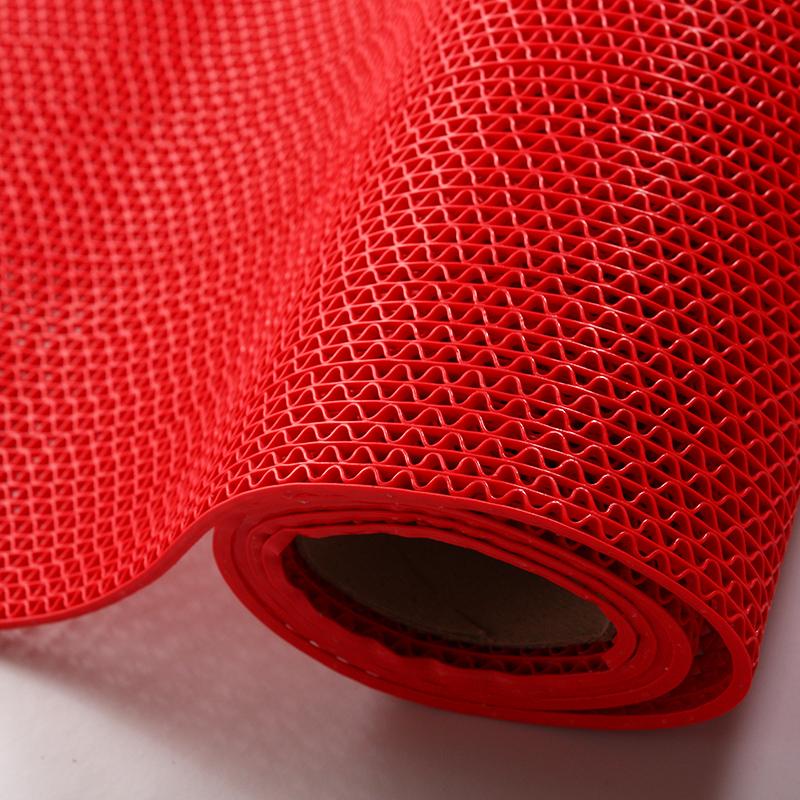 進門毯門口門廳地毯塑料pvc防滑毯浴室腳墊鏤空地毯腳踏防滑墊子