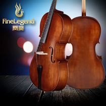 Feng Ling cello handmade solid wood children beginner adult Professional grade Test playing instrument flagship shop