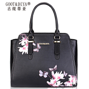 Ms Gu Ti TIA bag 2015 new tide leather handbags for fall/winter print fashion shoulder bag