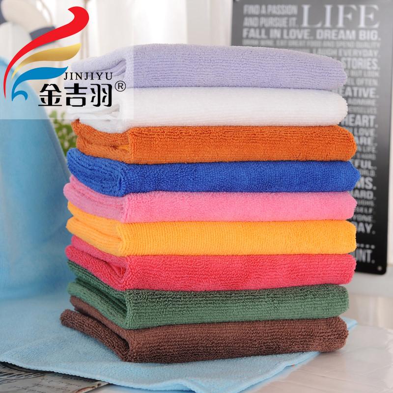 廠家直銷金吉羽加厚超細纖維80克洗車毛巾30*70擦車巾打蠟巾
