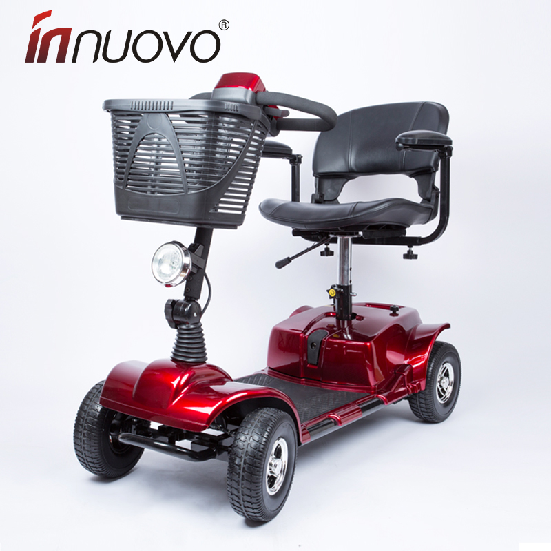 Innuovo четырехколесный старики поколение автомобиль автоматический умный инвалид болезнь человек сложить легкий пожилой власть народа шаг круглый стул