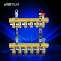 JLD ja-a4 Type Water separator ground Heating water Collector 2 Road 3 Road 4 Road 5 Road 6 Road 7 Road 8 Road