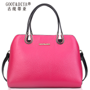 Ladies bags leather bag autumn 2015 new tide's baotou cow leather bag brand shoulder tote bags
