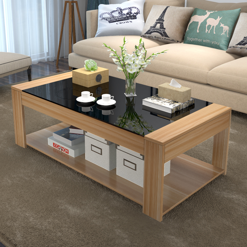 包邮 茶几简约现代钢化玻璃茶几 客厅小户型创意茶几桌子