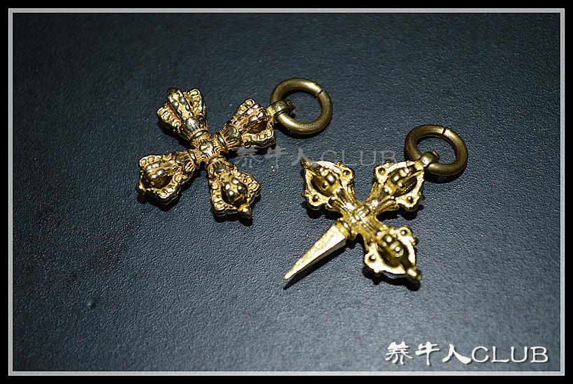 【Bull Club】DIY чистая медь десять слово Звездный кулон Злой подвесной ювелирный кулон