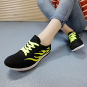 2015 spring new NET shoes sports shoes women shoes flat shoes and soft bottom shoes student shoes