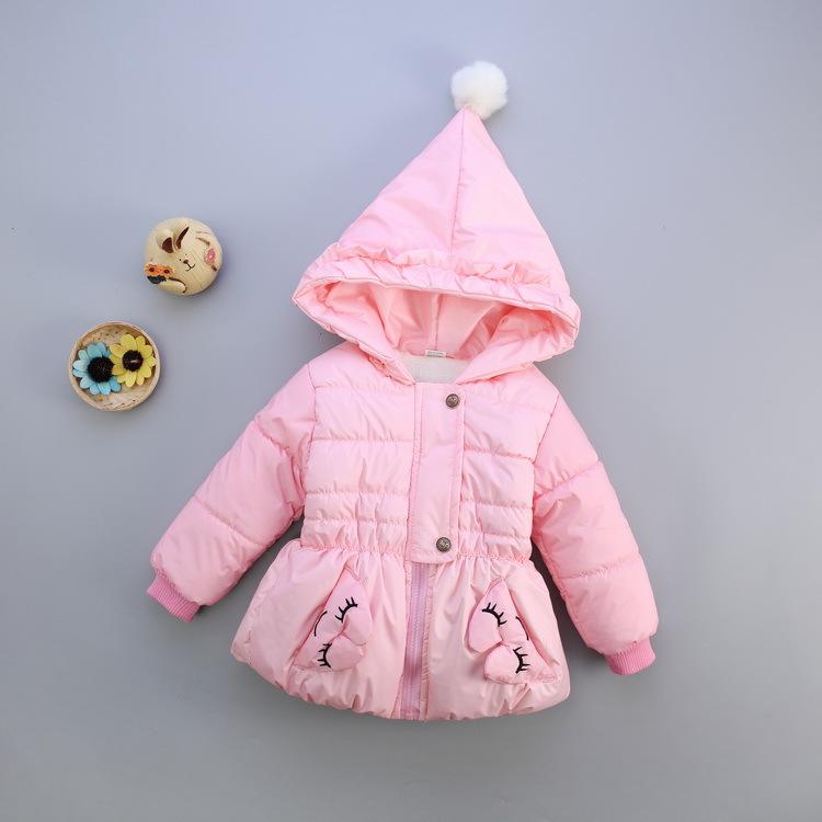 麦克宝贝童装 儿童羽绒服含绒量90%以上连帽中小童外套棉衣棉服