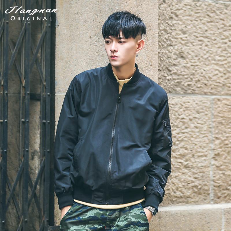 江南先生口袋 潮男外套