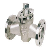 X43W-10R two pass 316L stainless steel plug valve