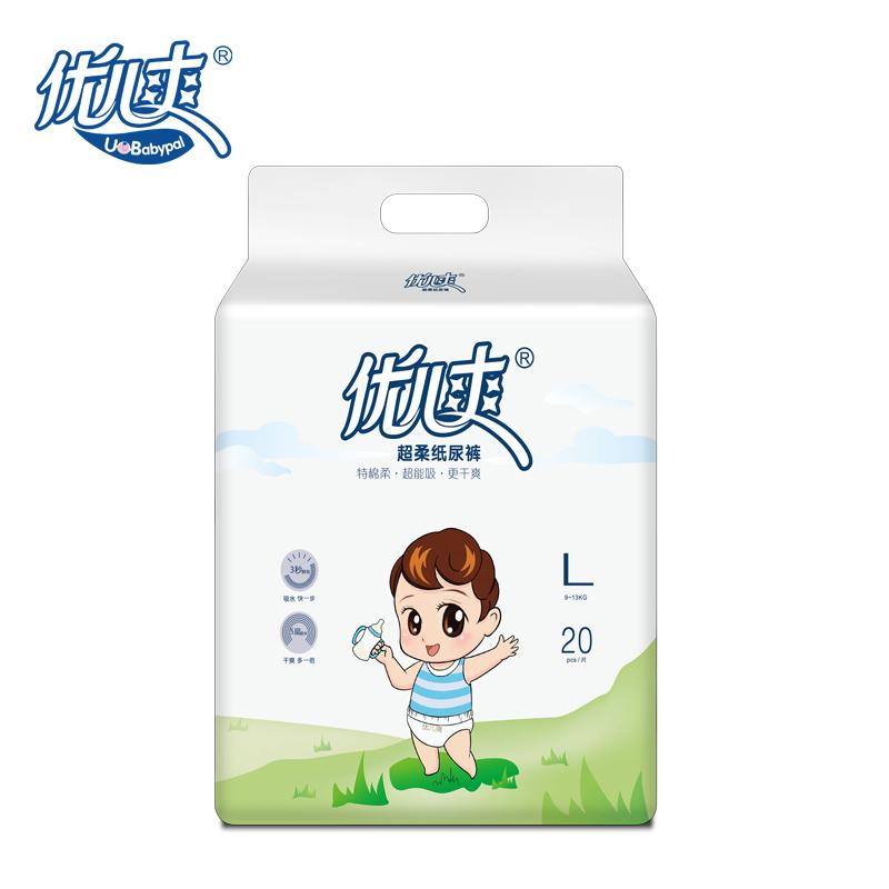 優兒爽 超柔紙尿褲 L20片