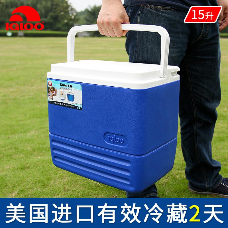 IGLOO легко прохладно музыка 15L еда сохранение тепла коробка на открытом воздухе холодный тибет коробка домой небольшой автомобиль портативный мать молоко лед баррель