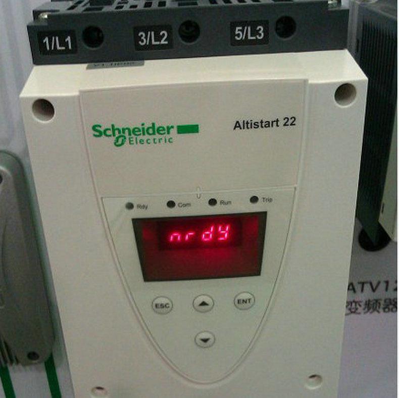 施耐德标准应用ATS22C11Q通用软启动器