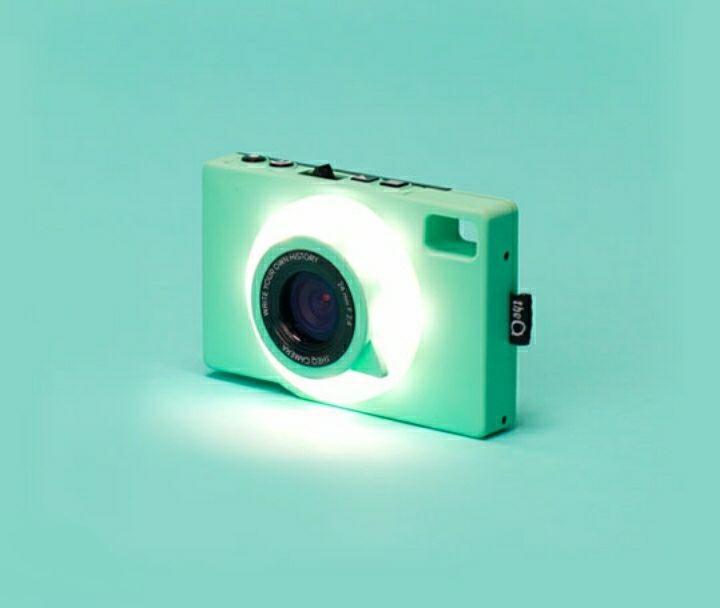 Творческий LOMO камера TheQ прекрасный цвет водонепроницаемый путешествие the q три противоположных цифровой ребенок камера мята зеленая