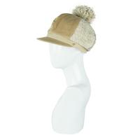 盛锡福帽子2016秋冬韩版大球带沿羊毛毛线帽针织帽女帽时装帽