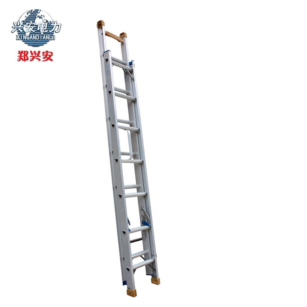 Чжэн Синьань утепленный алюминий Сплавная лестница 8 метров один Телескопическая лестница высокая Лестничные хозяйственные лестничные работы один трап