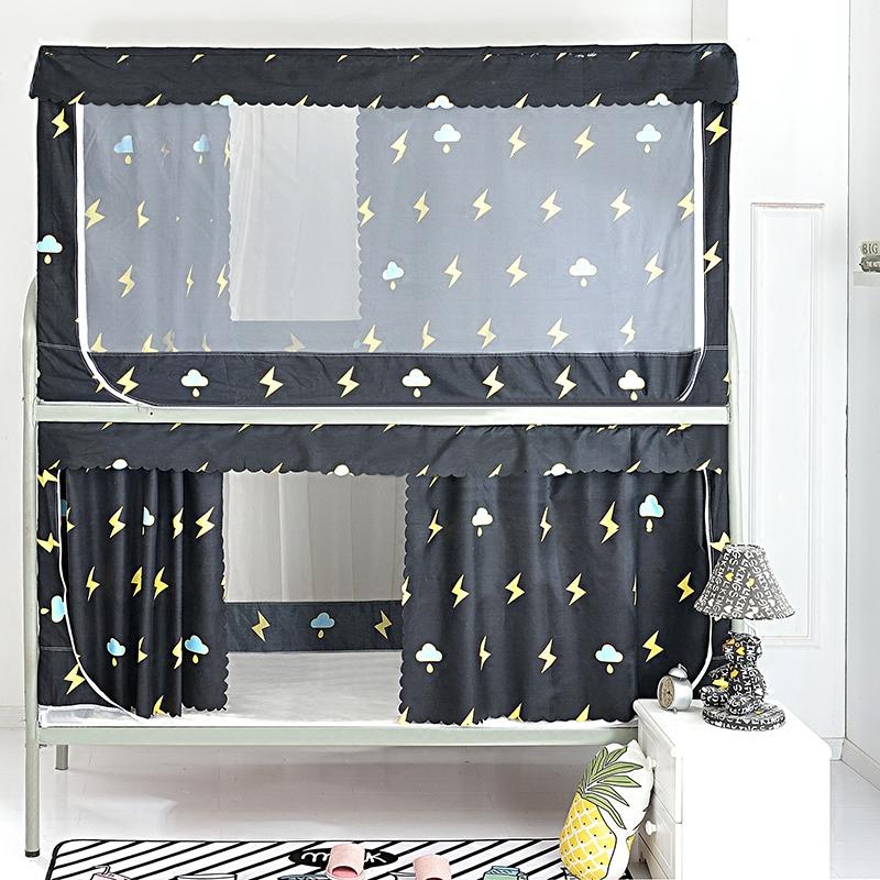 Университет сырье комната с несколькими кроватями сон комната верхняя полка причал пылезащитный сверху затенение ткань двойной кровать занавес сетка от комаров шторы 0.9/1.2m метр
