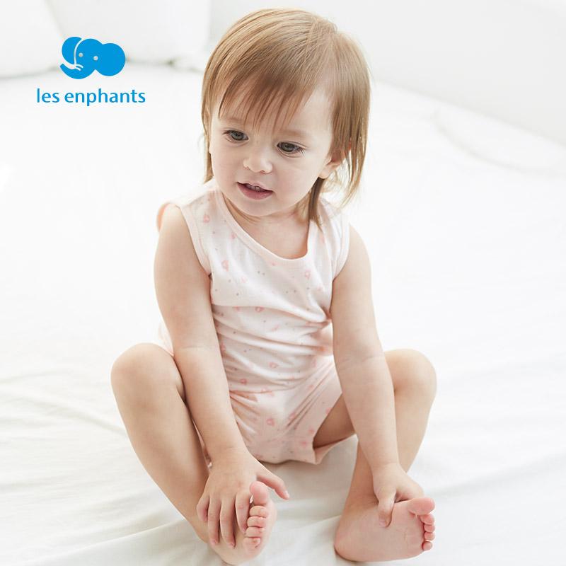 丽婴房童装宝宝空调服薄款纯棉婴儿衣服儿童内衣套装夏季睡衣
