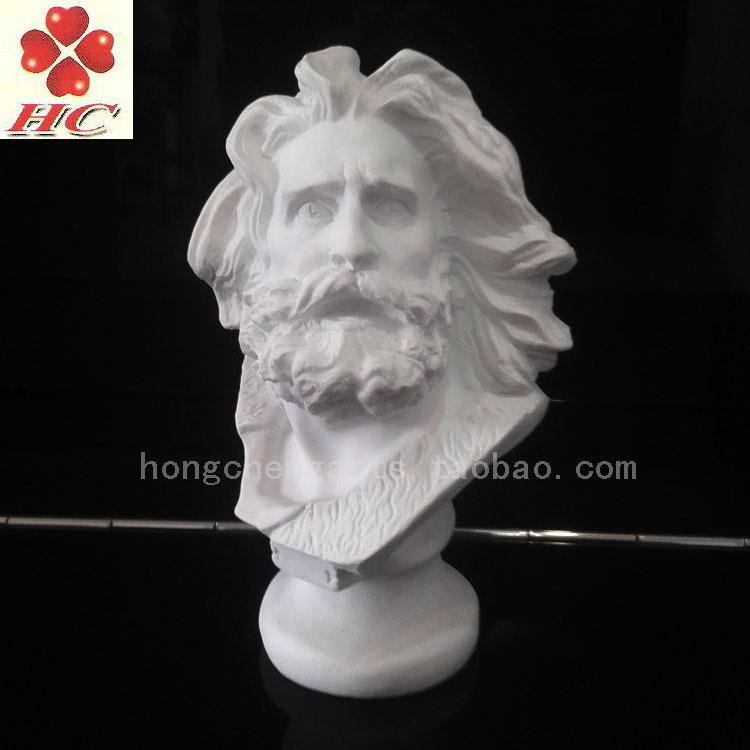 包不破损树脂仿石膏教具18cm马赛石膏头像胸像马赛曲战士美术用品