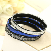 Know Connie hair accessories Korean version of Joker based wide-shining lines hair hair band hair band hair rope