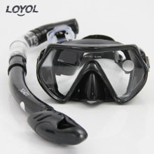 Loyol authentic snorkeling sanbao goggles all dry underwater breathing tube suit the maldives snorkelling equipment