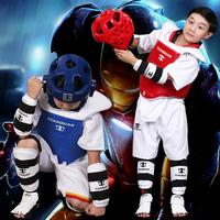 День право для взрослых ребенок сгущаться тхэквондо защитное снаряжение комплект пять частей один раз формирование шлем отправить защитное снаряжение пакет