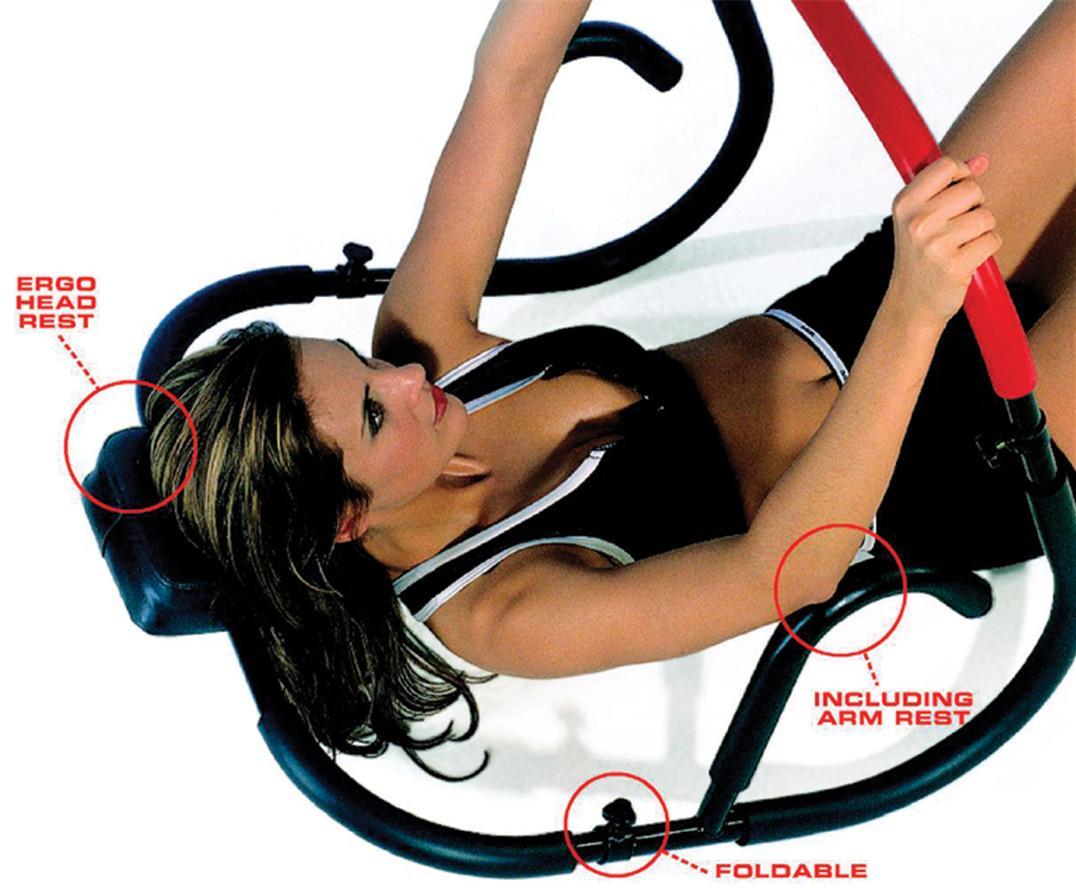 家用AB欧式健腹器健腹轮多功能仰卧起坐收腹机腹肌轮健身器材瘦腰