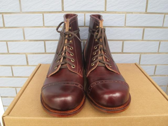 8bec6e32ab4 Cherry red spot julian boots bowery Beckham subsection (RRL HTC Wesco)