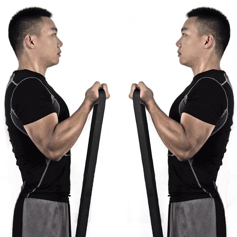 天揚 男士健身拉力帶 康複訓練阻力帶皮筋拉力彈力繩圈帶力量訓練