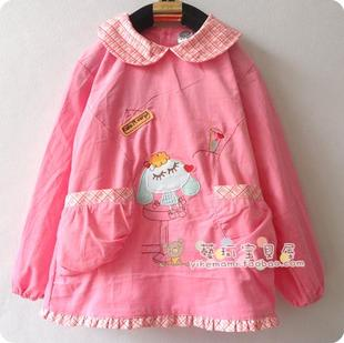 Cheap 1830 meters beans cool Seoul new cotton corduroy long sleeved gown baby girl baby clothes anti dress painting