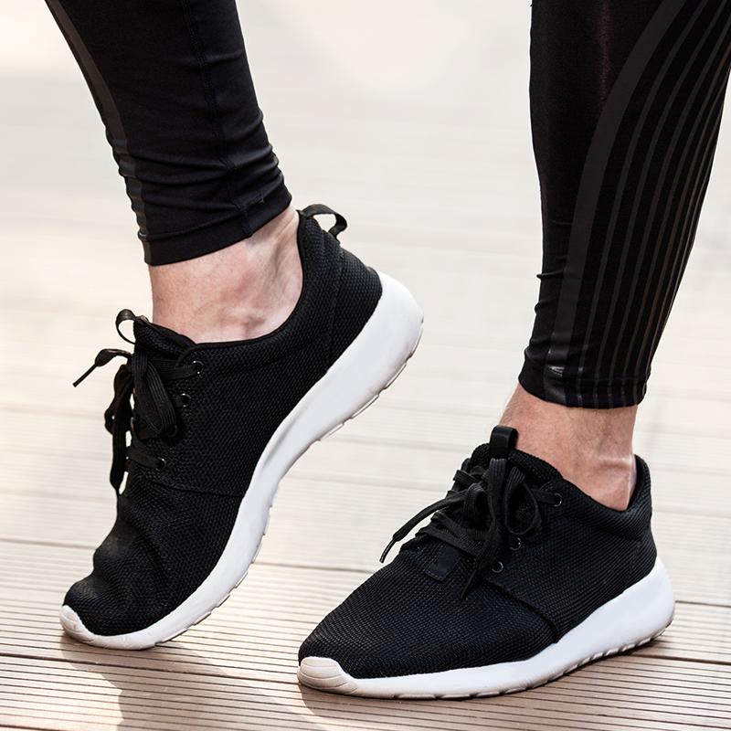 2017 новый летний корейская волна обувной эластичность обувь дыхания поверхность обувной случайный спортивной обуви мужской бег обувной