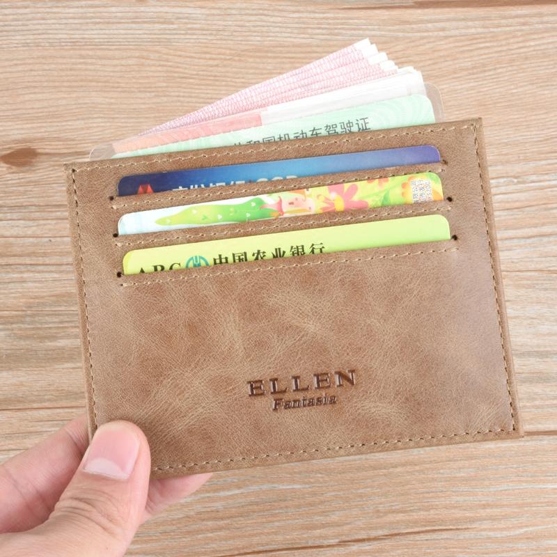 男士卡包超薄真皮錢夾牛皮駕駛證皮套學生短款小錢包青年皮夾卡位