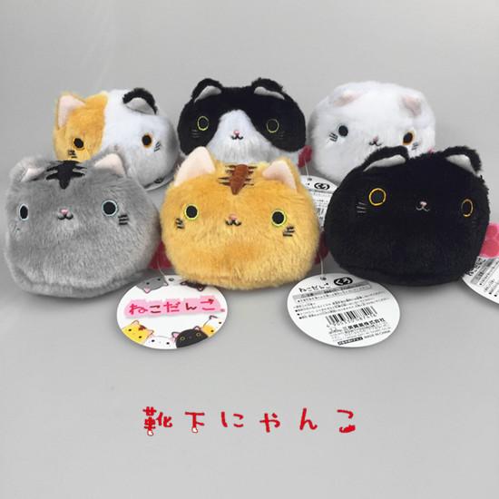 日本 新款 靴下猫 炒鸡可爱猫咪 手掌沙包毛绒公仔玩偶玩具