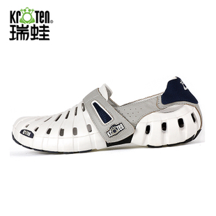 Swiss frog summer male sandals male sandals slip breathable lightweight outdoor sports lovers hole shoes male models