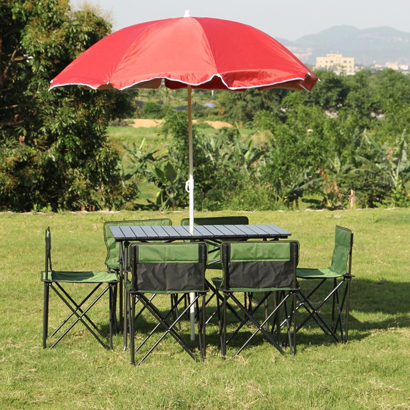 Земля мораль волк на открытом воздухе складной стол отправить набор наряд алюминиевых сплавов столы и стулья сочетание удобный стиль на машине тур барбекю пикник столы и стулья