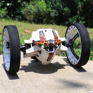 翻滚斗特技弹跳车越野遥控车智能充电跳跳玩具车儿童电动汽车赛车