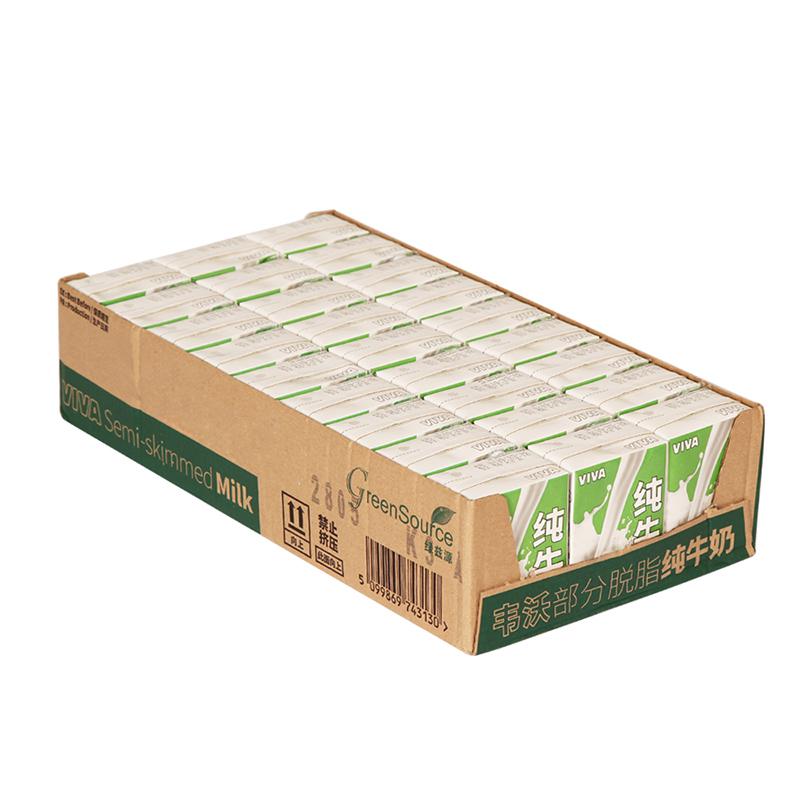 英國 牛奶韋沃部分脫脂純牛奶200ml~27英超市有售