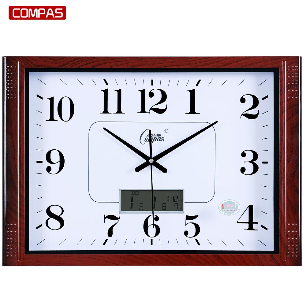 Мир пакистан провод гостиная немой 20 дюймовый висит колокол атмосфера простой прямоугольник кварц колокол офис часы стол настенный часы