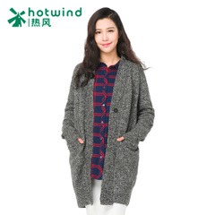 Hot women's clothing new ladies straight long sweater coat in winter sweaters women's Cardigan 08H5710
