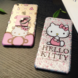 Hello kitty iphone6Splus手机壳苹果6plus手机套新款5.5卡通女款