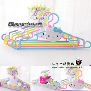 Hello Kitty Hello Kitty colorful owl Meng drying racks hanger racks color 5 color set