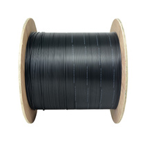 Si 1 core outdoor leather cable wire fiber 1 Core FTTH butterfly 3 steel Wire 2000.1-meter rolls