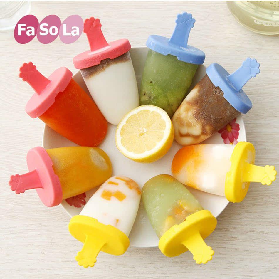 日本FaSoLa冰激凌雪糕模具冰淇淋冰糕冰棍模具冰棒冰块冰格制冰盒13.90元包邮