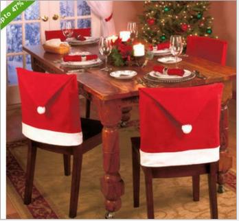 Рождественские украшения Рождество Рождество шляпы Рождество Председателя охватывает сырьевые товары Рождество, платки носовые
