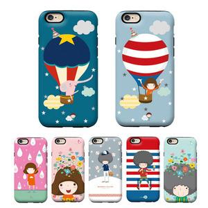 韩国gcase可爱卡通人物苹果6S双层防摔套iphone6 plus手机壳